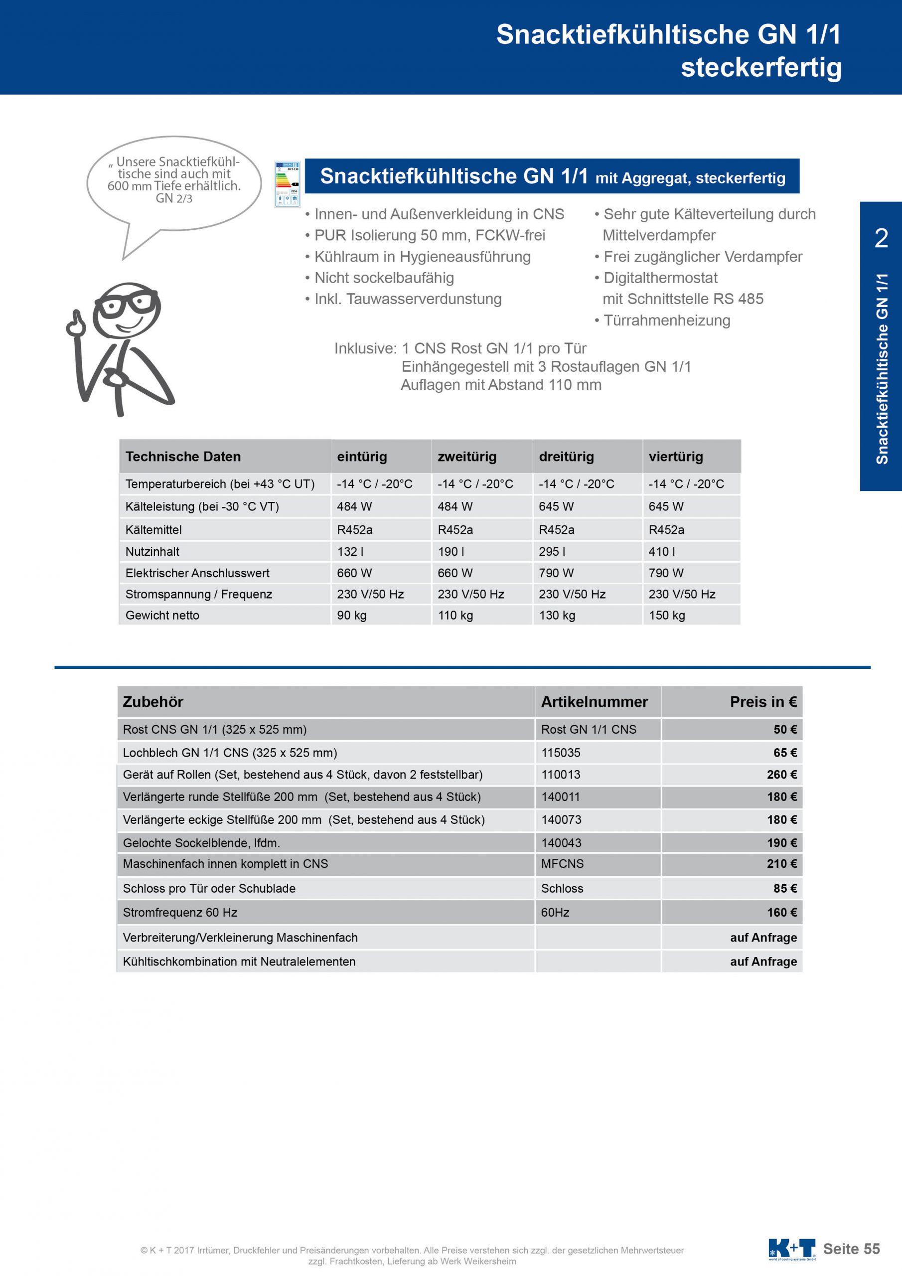 Snacktiefkühltisch GN 1_1 steckerfertig 2